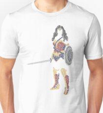 Superhero Wonder Woman Unisex T-Shirt