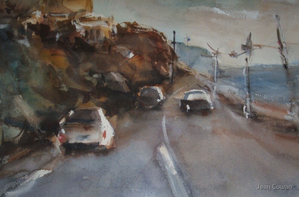 Evening, Olivers Hill by Jean Cowan