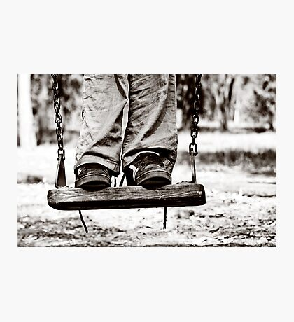 on the swing Photographic Print