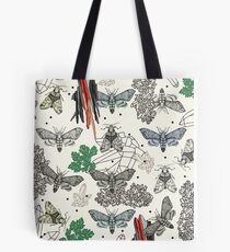 Moths and rocks. Tote Bag
