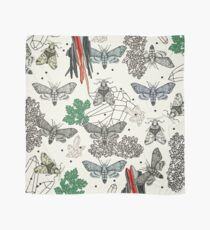 Moths and rocks. Scarf