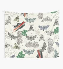 Moths and rocks. Wall Tapestry