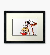 Calvin & Hobbes II Framed Print
