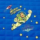 Toy Story Andy's Buzz Lightyear Bed Duvet by shaz3buzz2