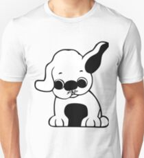 pug cartoon puppy Unisex T-Shirt