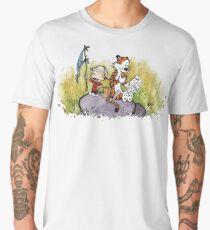 Calvin and Hobbes Adventure Men's Premium T-Shirt
