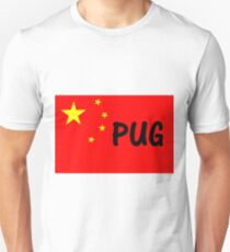 pug name flag Unisex T-Shirt