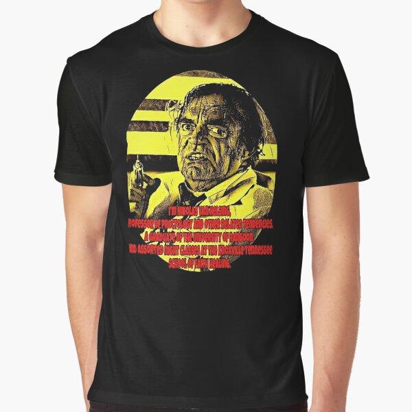 Dr Nikolas Van Helsing Graphic T-Shirt
