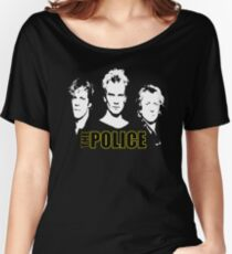 Police Women's Relaxed Fit T-Shirt