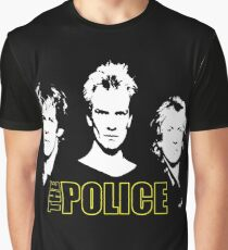 Police Graphic T-Shirt