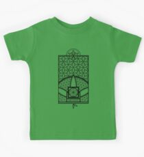Ultra Sacred Geometry - The Seed of Creation Kids Clothes