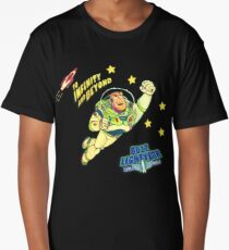 Andys 90'sToy Story Bed Replica Buzz Lightyear Long T-Shirt