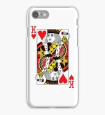 King of Hearts on the Phone iPhone Case/Skin