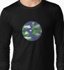 Cartoon Planet Earth T-Shirt