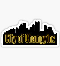 Pittsburgh - City of Champyinz Sticker