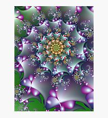 Berry Spiral Photographic Print
