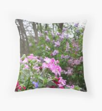 Spring Flowers Dreamscape Throw Pillow