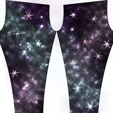 Shining star leggings by WaterHorseyBlue