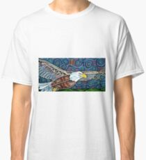 George the Bald Eagle Classic T-Shirt