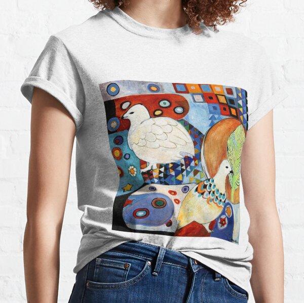 Plumage, Ptarmigan Art Classic T-Shirt
