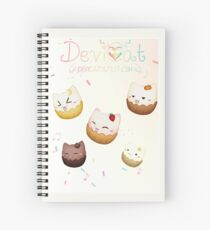 Cats Carnival - CatCupcakes - 2017 Spiral Notebook