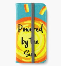 Powered by the Sun iPhone Wallet/Case/Skin