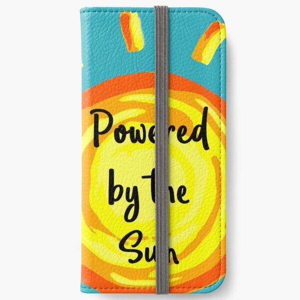 Powered by the Sun iPhone Wallet