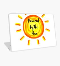 Powered by the Sun Laptop Skin
