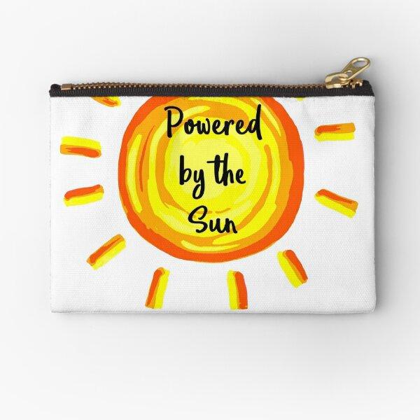 Powered by the Sun Zipper Pouch