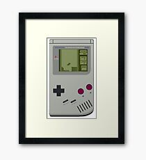 gameboy tetris Framed Print