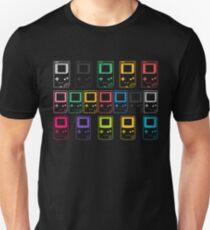 Outline Gameboys (black) Unisex T-Shirt