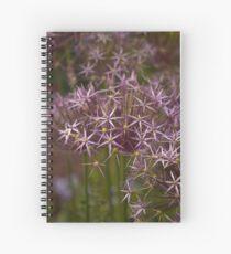 Allium Summer Flowers Spiral Notebook