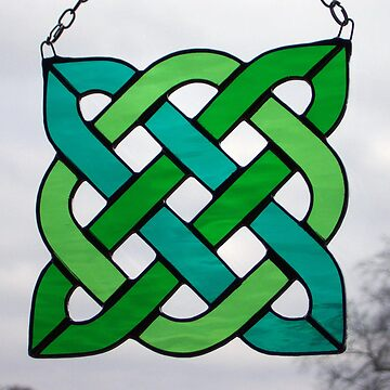 "Celtic Knot ""Square"" by neilsglass"