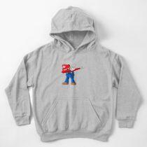Sudadera con capucha para niños Dabbing super mario