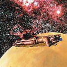 Stargazing, sunbathing  by Sophie Moates