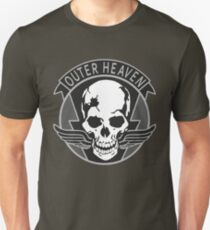 Metal Gear Solid - Outer Heaven Emblem  T-Shirt