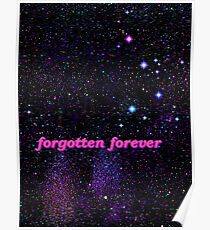 Galaxy Forgotten Forever Poster