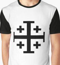 Jerusalem Cross  Graphic T-Shirt