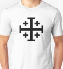 Jerusalem Cross  Unisex T-Shirt