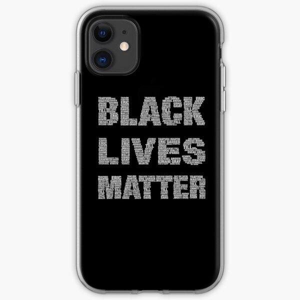 Black Lives Matter iPhone Soft Case