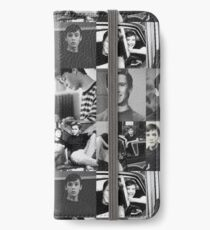 Wil Wheaton river Phoenix collage iPhone Wallet