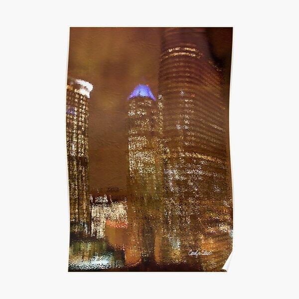 Houston Nights Poster