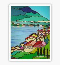 Lake Como Sticker