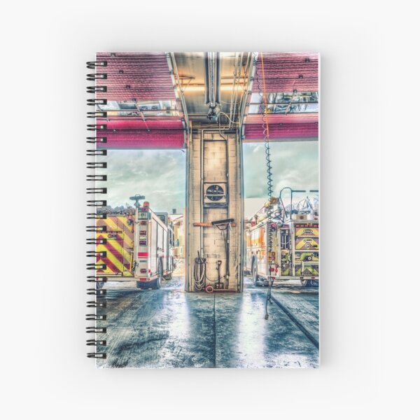 Firehall Spiral Notebook