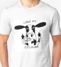 Vegan - Leave my tits alone T-Shirt