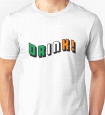 Drink Irish Beer Unisex T-Shirt