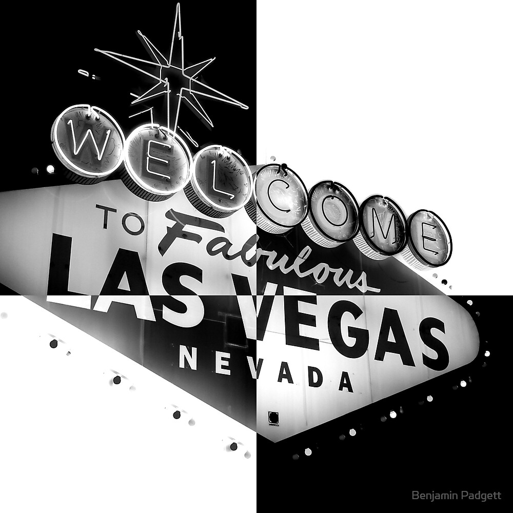 Vegas Sign No. 27 by Benjamin Padgett