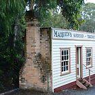 REPLICA AUSTRALIAN STORE IN A COAL MINING TOWN by kazaroodie