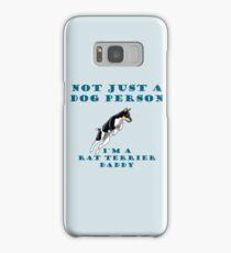rat terrier dad Samsung Galaxy Case/Skin
