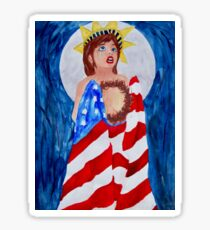 Broken America  Sticker